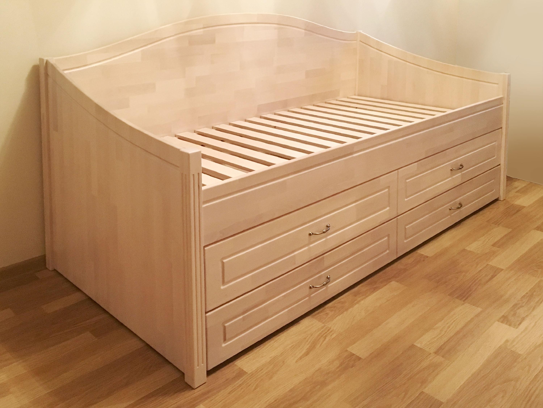 Beržo medienos lova dviems vaikams ELLA