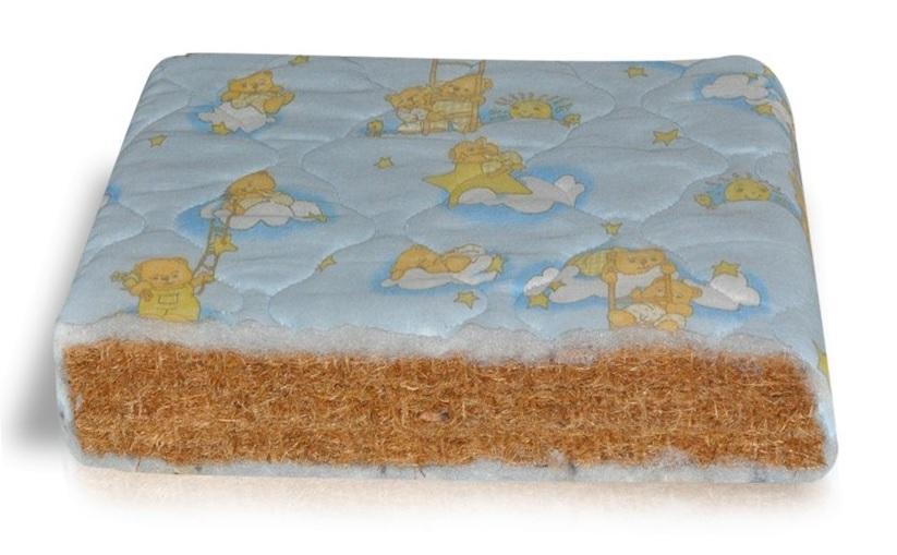 Kokoso čiužinys kūdikio lovytei,